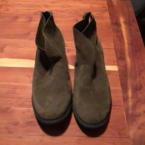Olive Green Jessica Simpson Booties